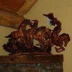 J Chester Armstrong Wood Sculpter
